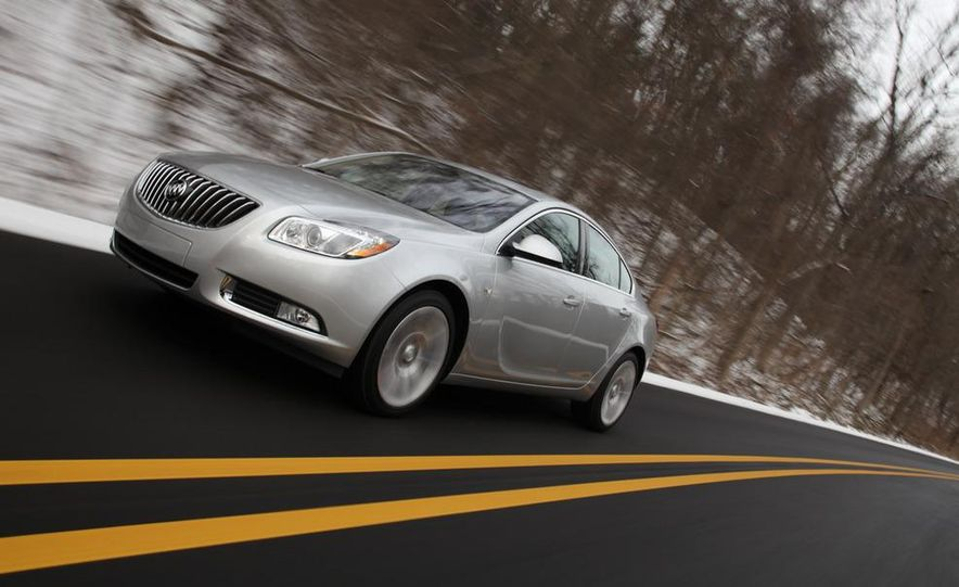 2012 Buick Regal wagon - Slide 51