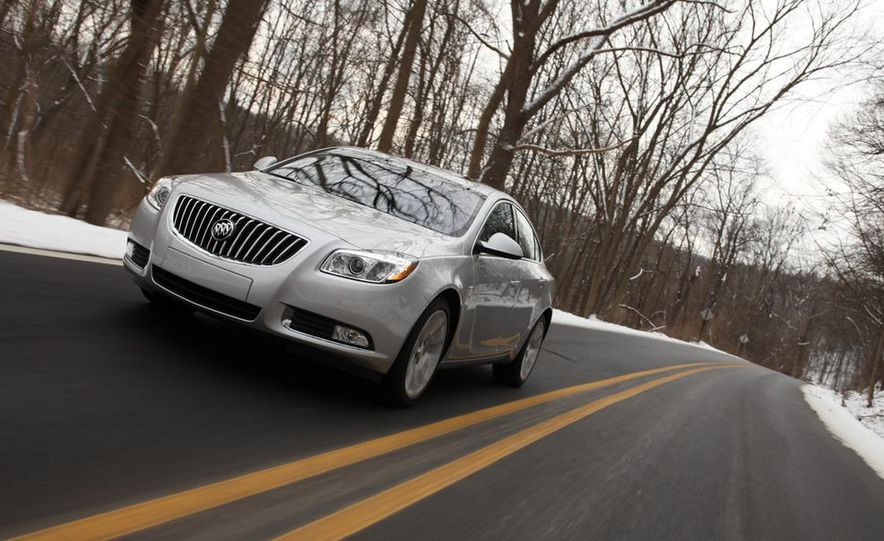 2012 Buick Regal wagon - Slide 52