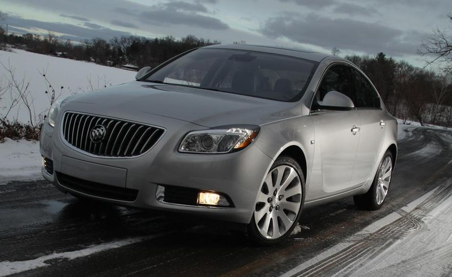 2012 Buick Regal wagon - Slide 53