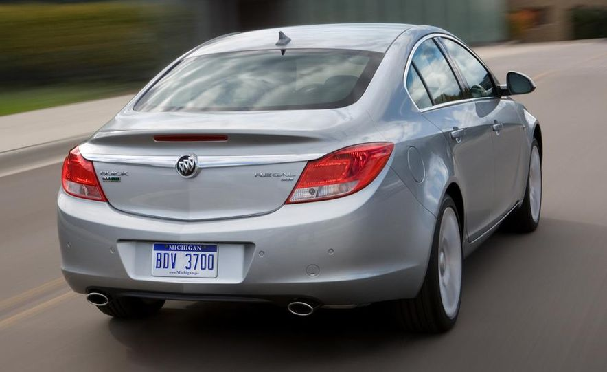 2012 Buick Regal wagon - Slide 54