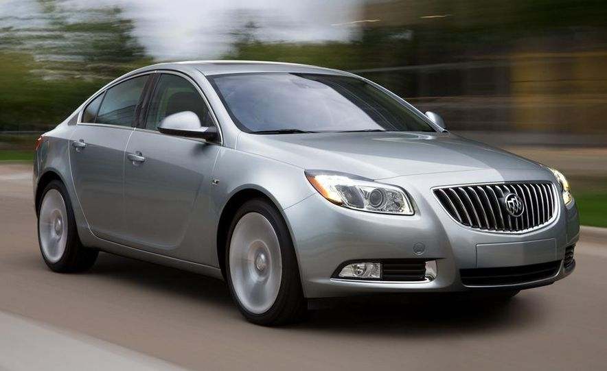 2012 Buick Regal wagon - Slide 55