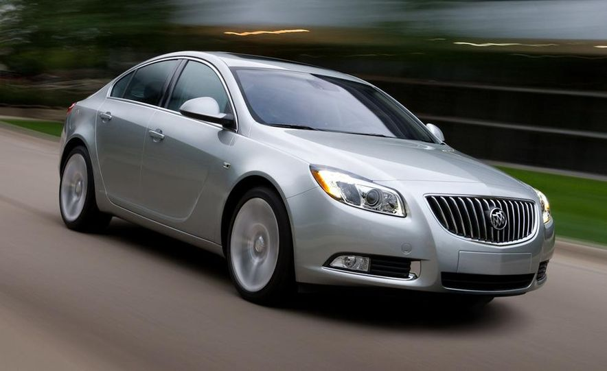 2012 Buick Regal wagon - Slide 56