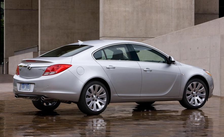 2012 Buick Regal wagon - Slide 57