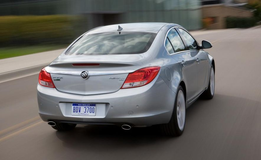 2012 Buick Regal wagon - Slide 58