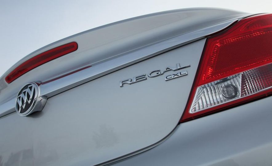 2012 Buick Regal wagon - Slide 59