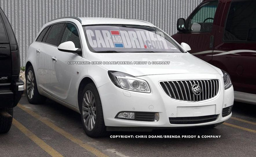 2012 Buick Regal wagon - Slide 1