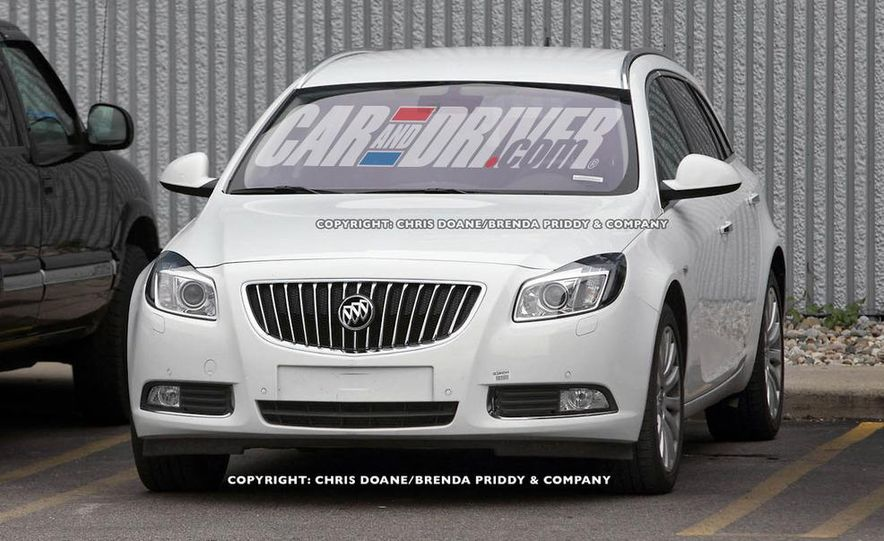 2012 Buick Regal wagon - Slide 2