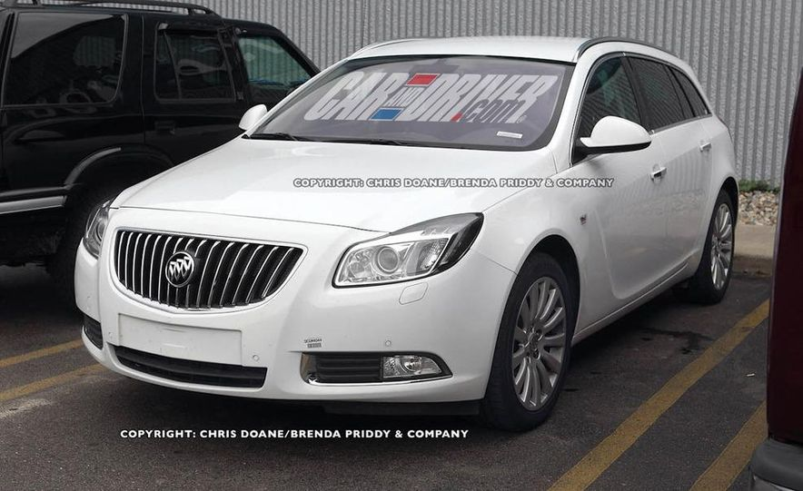 2012 Buick Regal wagon - Slide 3