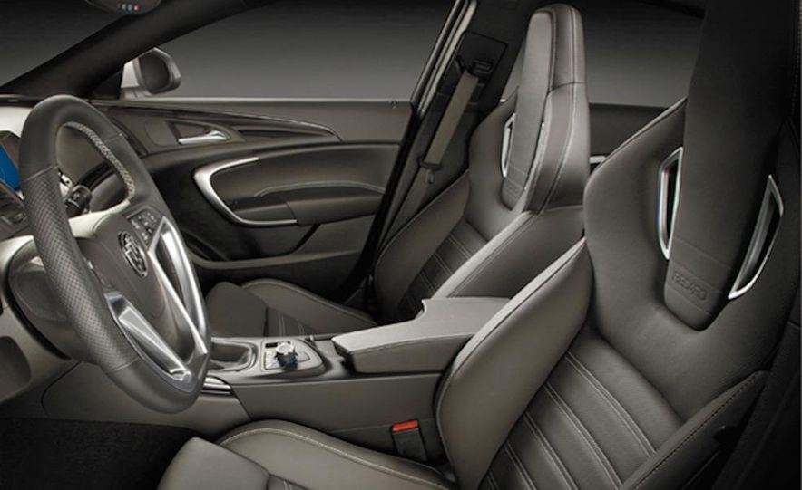 2012 Buick Regal wagon - Slide 92