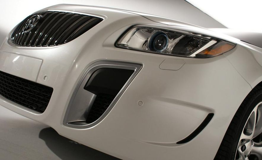 2012 Buick Regal wagon - Slide 83