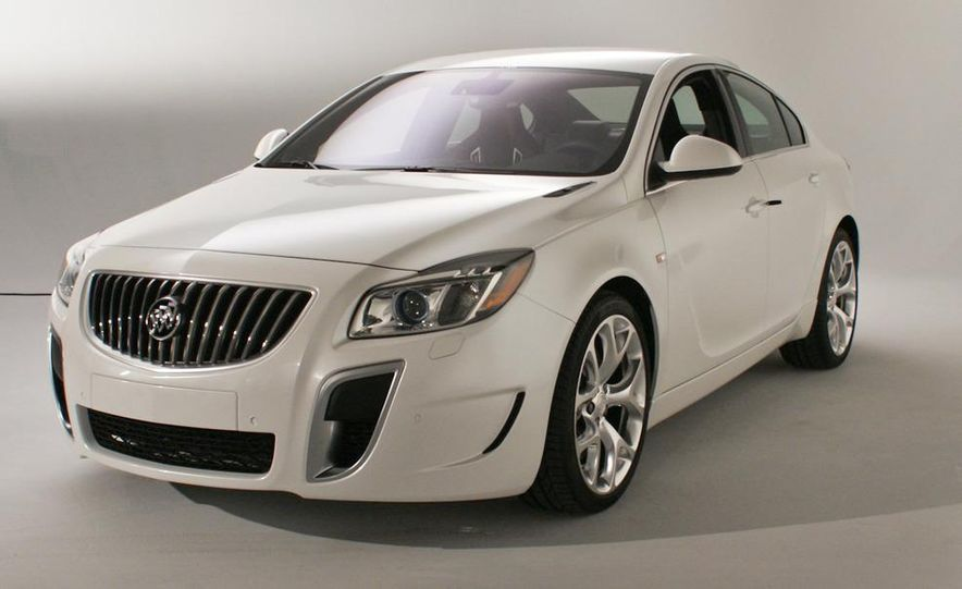 2012 Buick Regal wagon - Slide 78