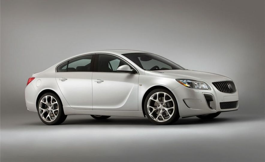 2012 Buick Regal wagon - Slide 81