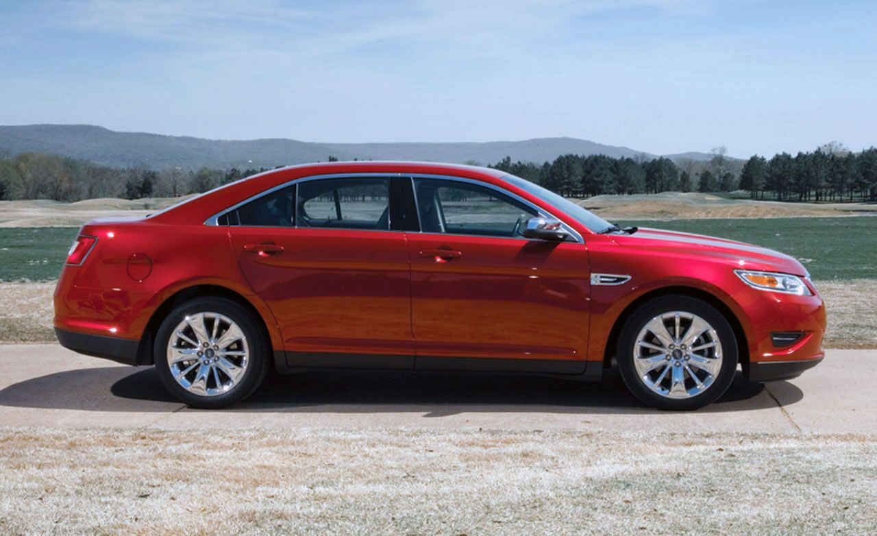 2010 ford taurus limited comparison tests comparisons car and driver