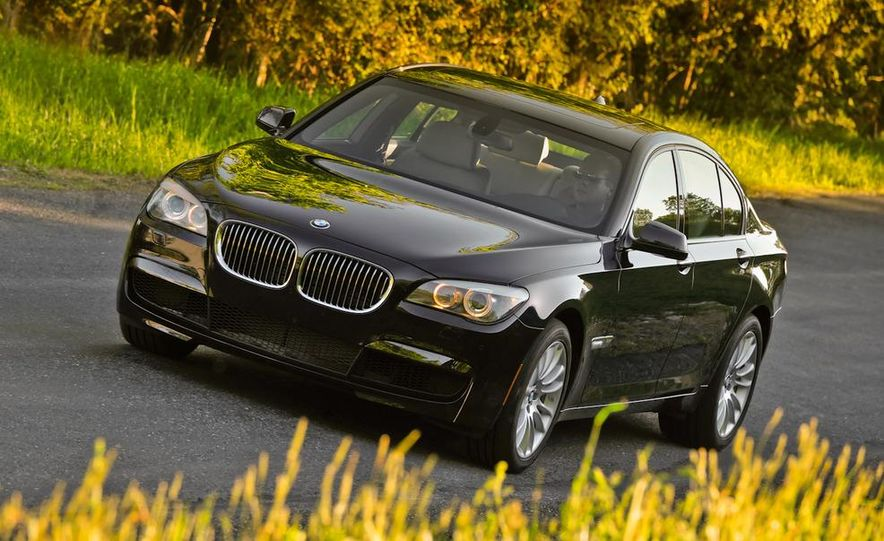 2011 BMW 740i with M Sport Package - Slide 4