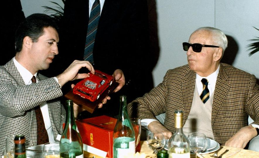 Piero and Enzo Ferrari - Slide 1