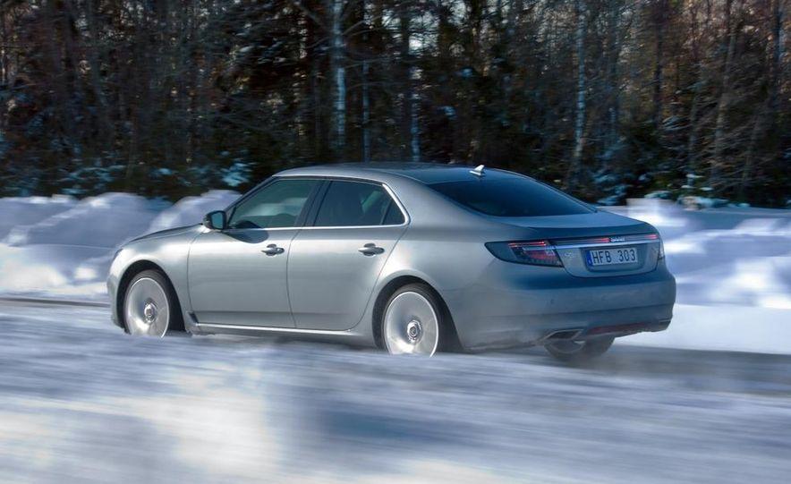 2011 Saab 9-5 (European spec) - Slide 14