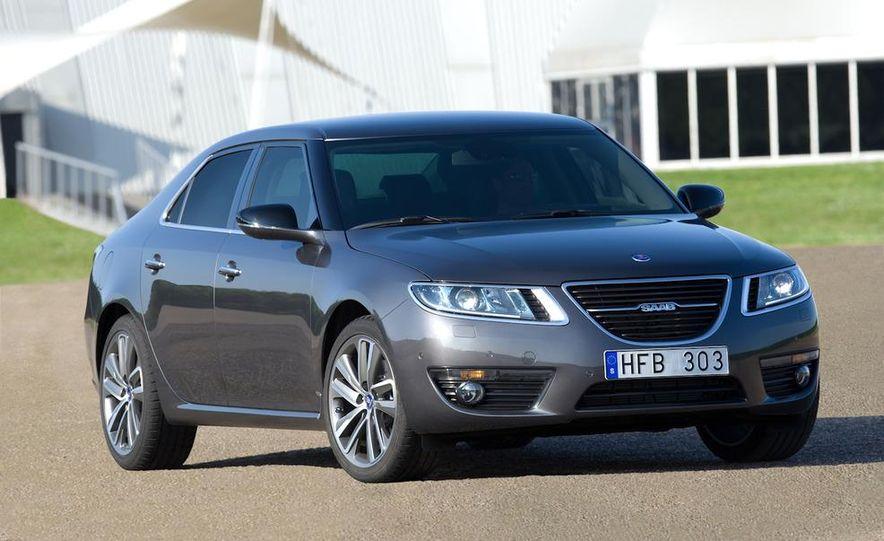 2011 Saab 9-5 (European spec) - Slide 15