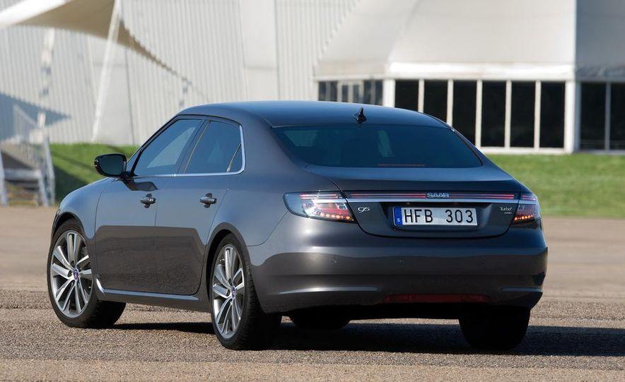 2011 Saab 9-5 (European spec) - Slide 16