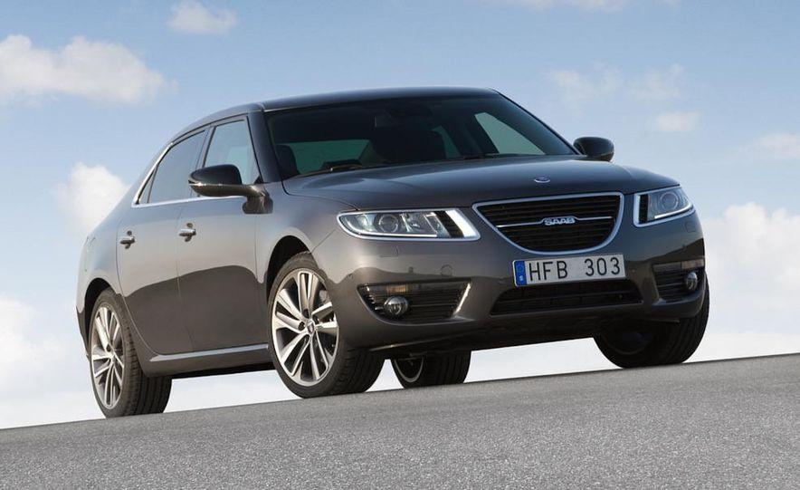 2011 Saab 9-5 (European spec) - Slide 22