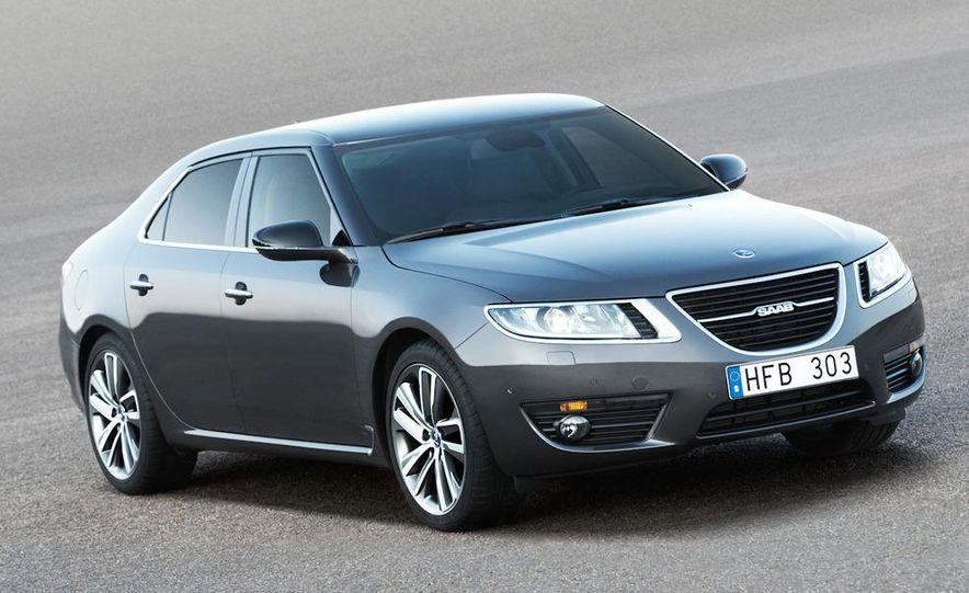 2011 Saab 9-5 (European spec) - Slide 25