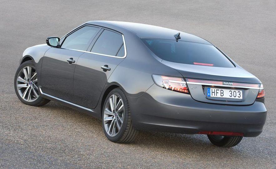 2011 Saab 9-5 (European spec) - Slide 26