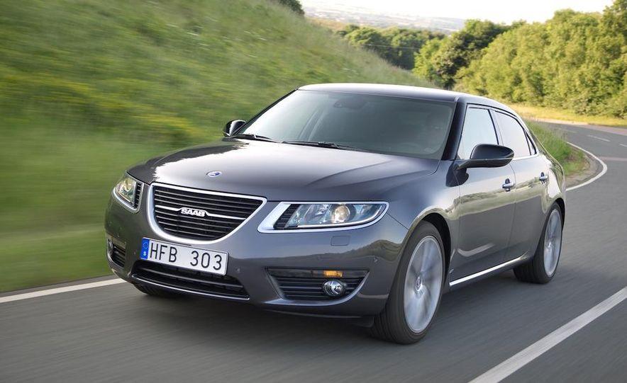 2011 Saab 9-5 (European spec) - Slide 3