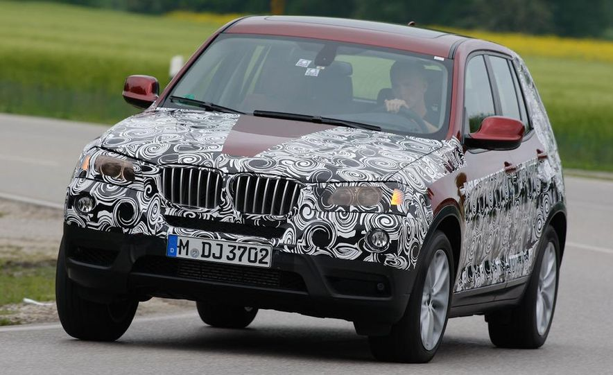 2011 BMW X3 prototype - Slide 1