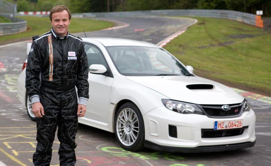 Tommi Mäkinen with the 2011 Subaru Impreza WRX STI Nürburgring prototype - Slide 1