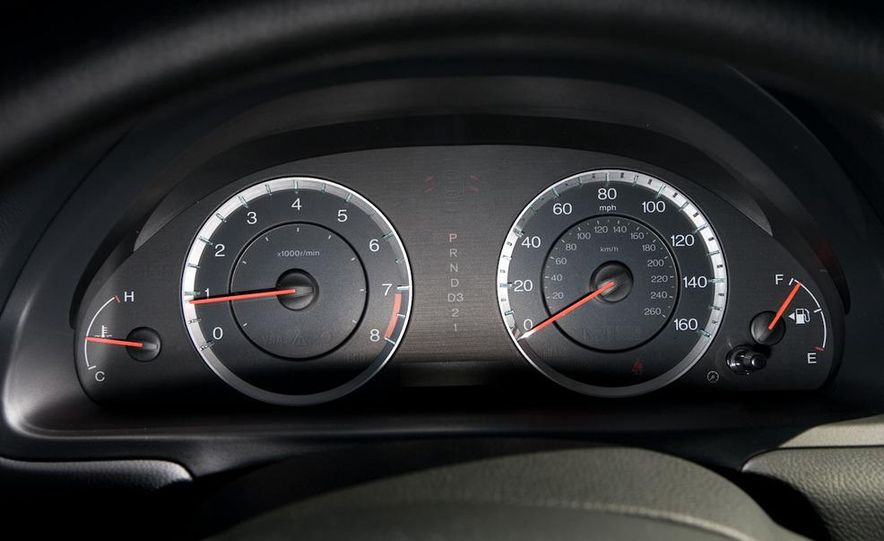 2011 Honda Accord EX-L V-6 coupe - Slide 38