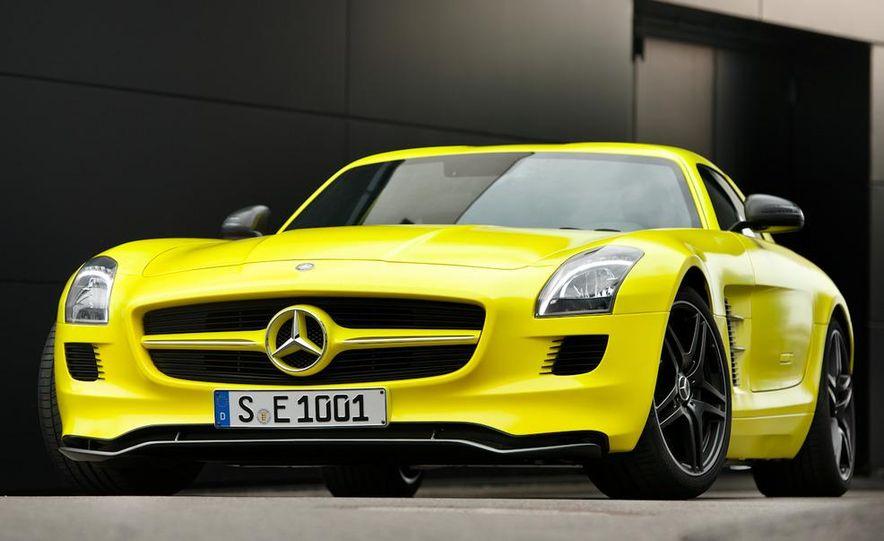 2013 Mercedes-Benz SLS AMG E-CELL - Slide 17