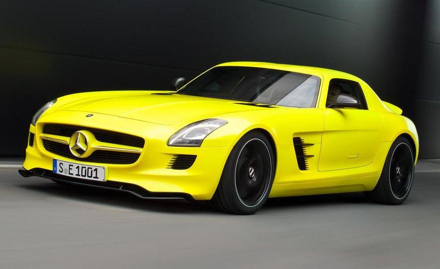 2013 Mercedes-Benz SLS AMG E-CELL - Slide 2