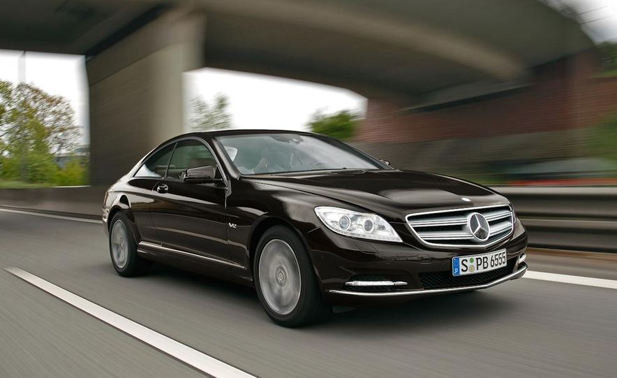 2011 Mercedes-Benz CL600 - Slide 2