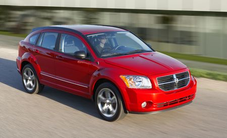2011 Dodge Caliber Gets Revised Suspension, Equipment Shuffled