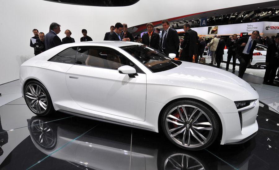 Audi Quattro Concept At The 2010 Paris Auto Show Car And Driver