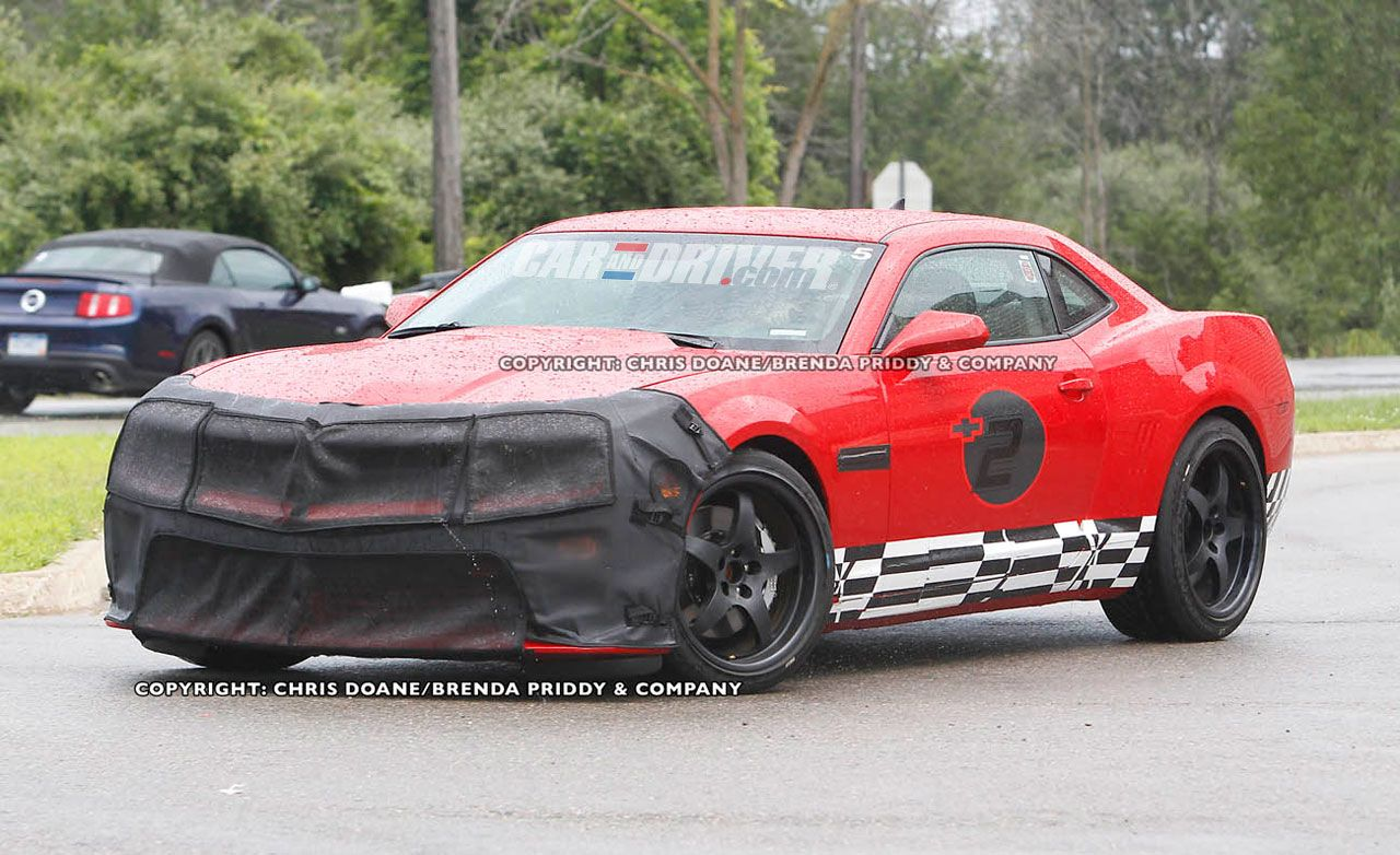 2012 Chevrolet Camaro Z28 Spy Photos