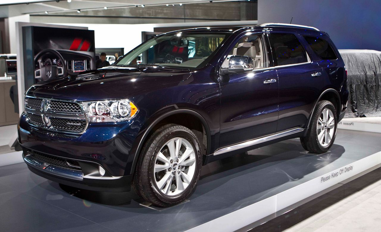 Dodge Durango News 2011 Dodge Durango Unveiled Car And Driver