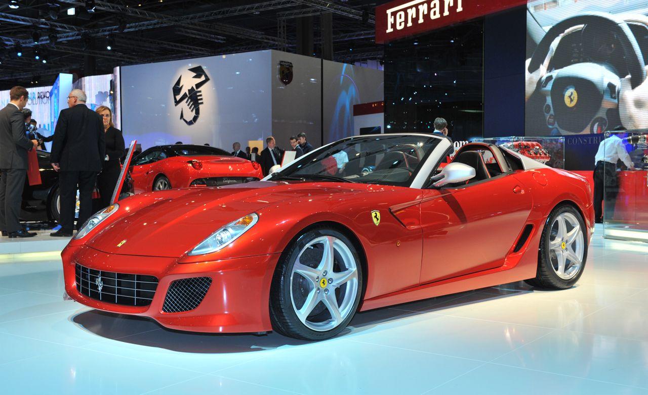 2011 Ferrari SA Aperta
