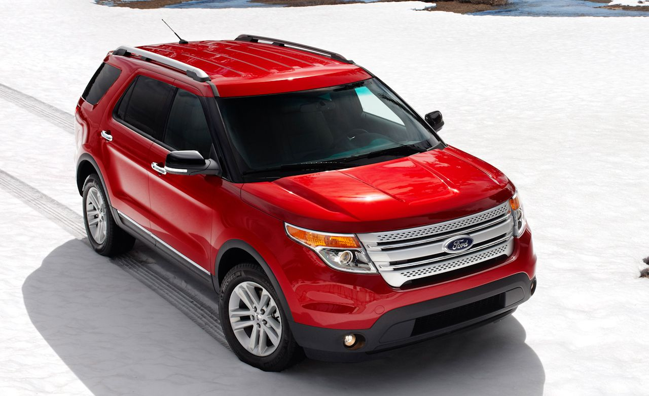 ford explorer news: 2011 ford explorer revealed – car and driver