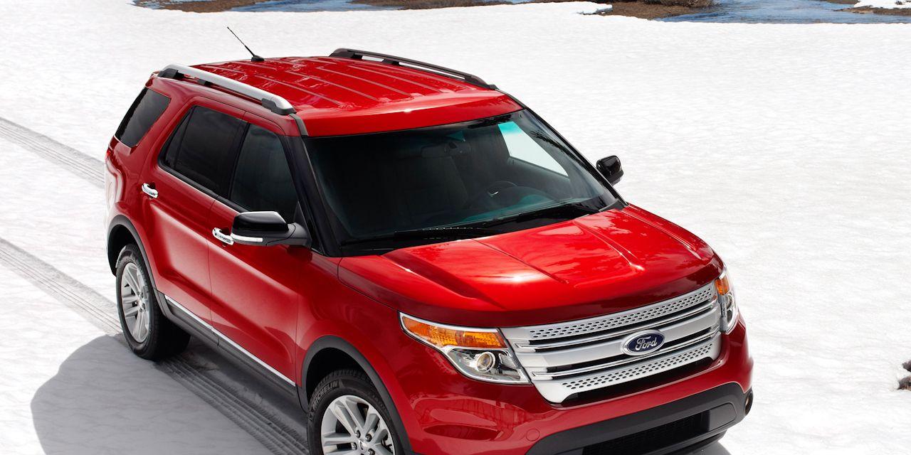 Ford Explorer News 2011 Ford Explorer Revealed 150 Car And Driver
