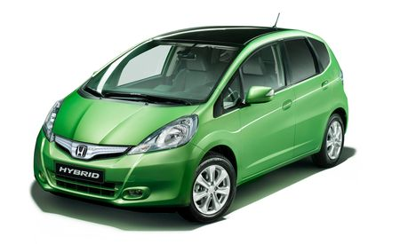 2012 Honda Fit Hybrid to Debut in Paris