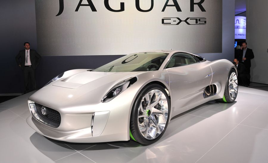jaguar c x75 concept. Black Bedroom Furniture Sets. Home Design Ideas