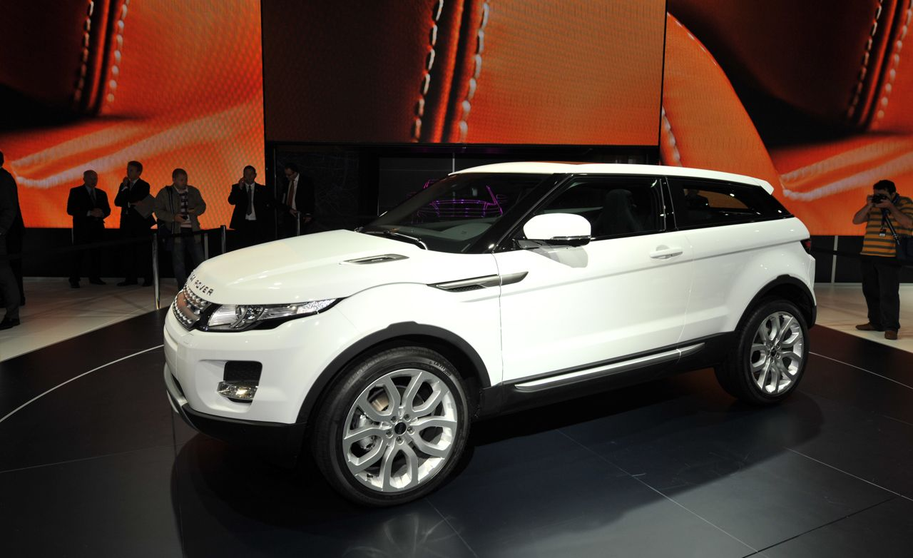 land rover evoque news 2012 range rover evoque debuts. Black Bedroom Furniture Sets. Home Design Ideas