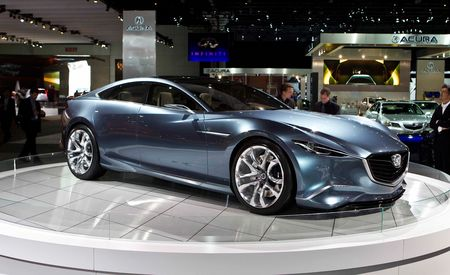 Mazda Shinari Concept Previews Next-Gen Mazda 6