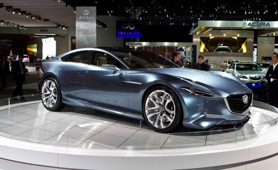 Mazda Shinari Concept Previews Next-Gen Mazda 6