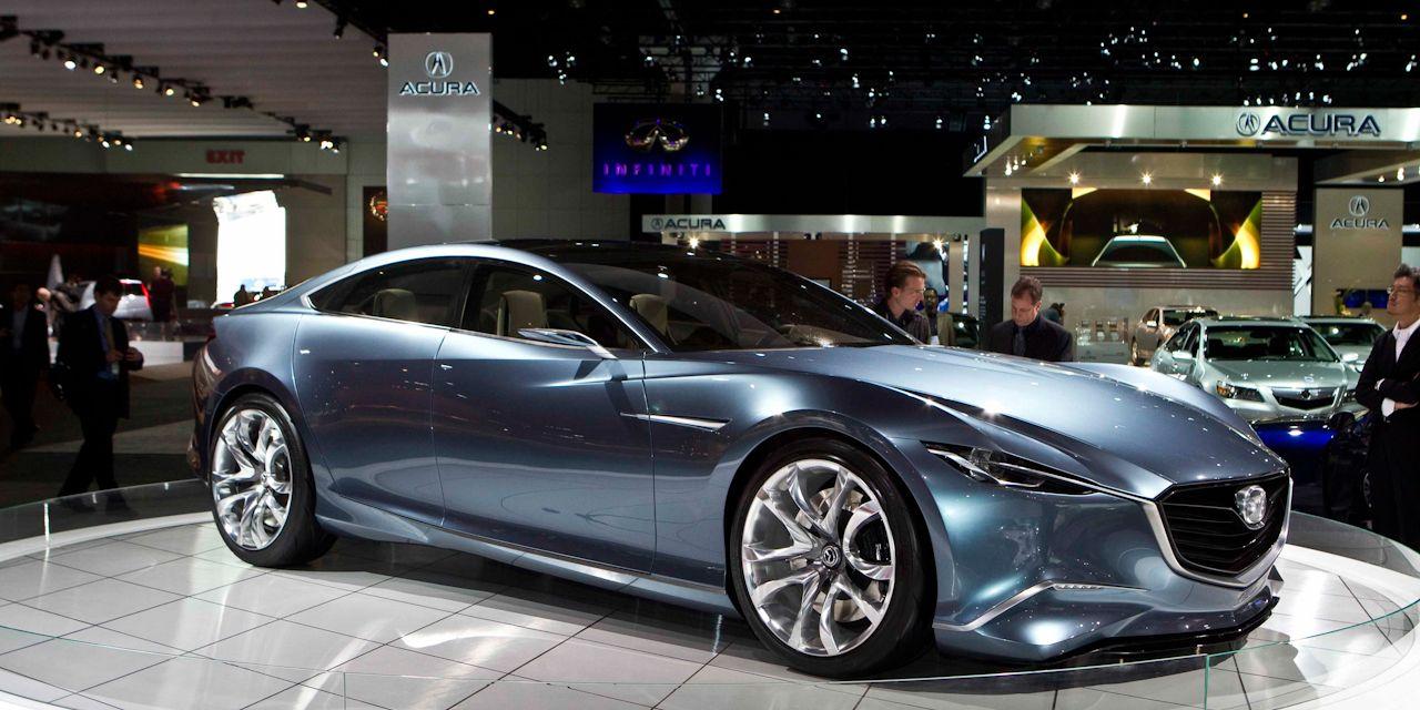 Mazda 6 News Mazda Shinari Concept Previews Next Mazda 6 150 Car