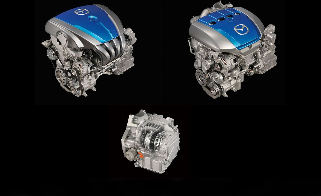 Mazda Skyactiv-G and Skyactiv-D Engines in Detail