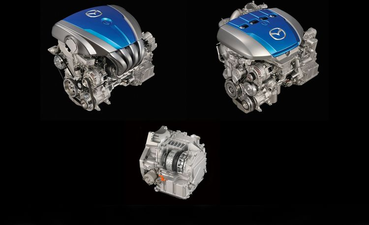 Mazda Skyactiv-G and Skyactiv-D Engines in Detail