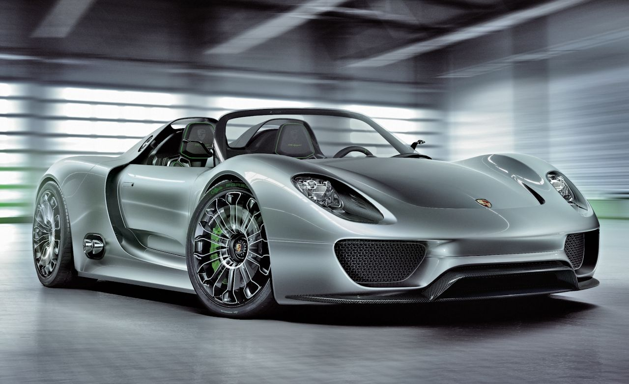 Porsche 918 Spyder Concept Confirmed for Production