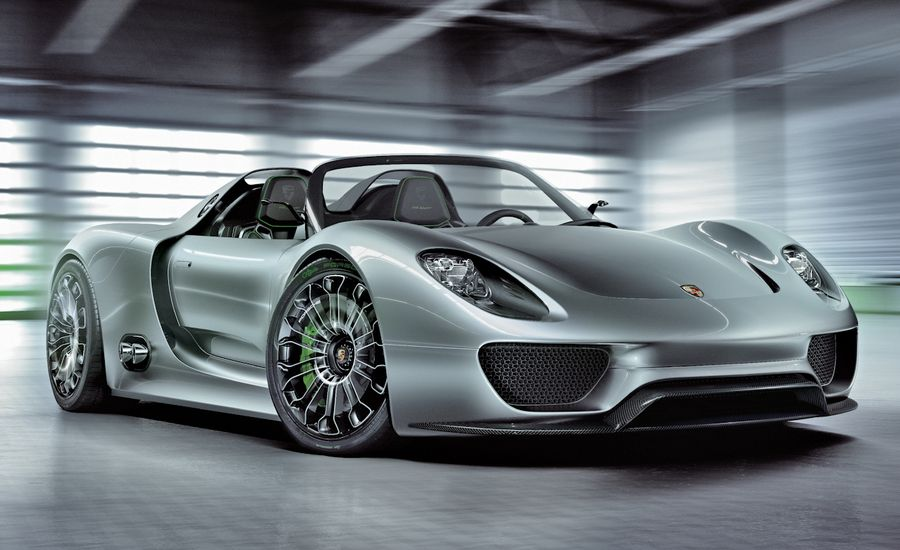 Porsche 918 Spyder Concept Confirmed for Production