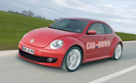 2012 Volkswagen New Beetle Rendered
